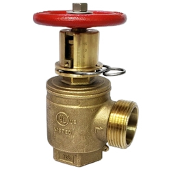 UL Pressure Restricting Angle Hose Valve