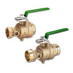 UL Test and Drain Valve