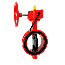 UL Wafer Type Butterfly Valve