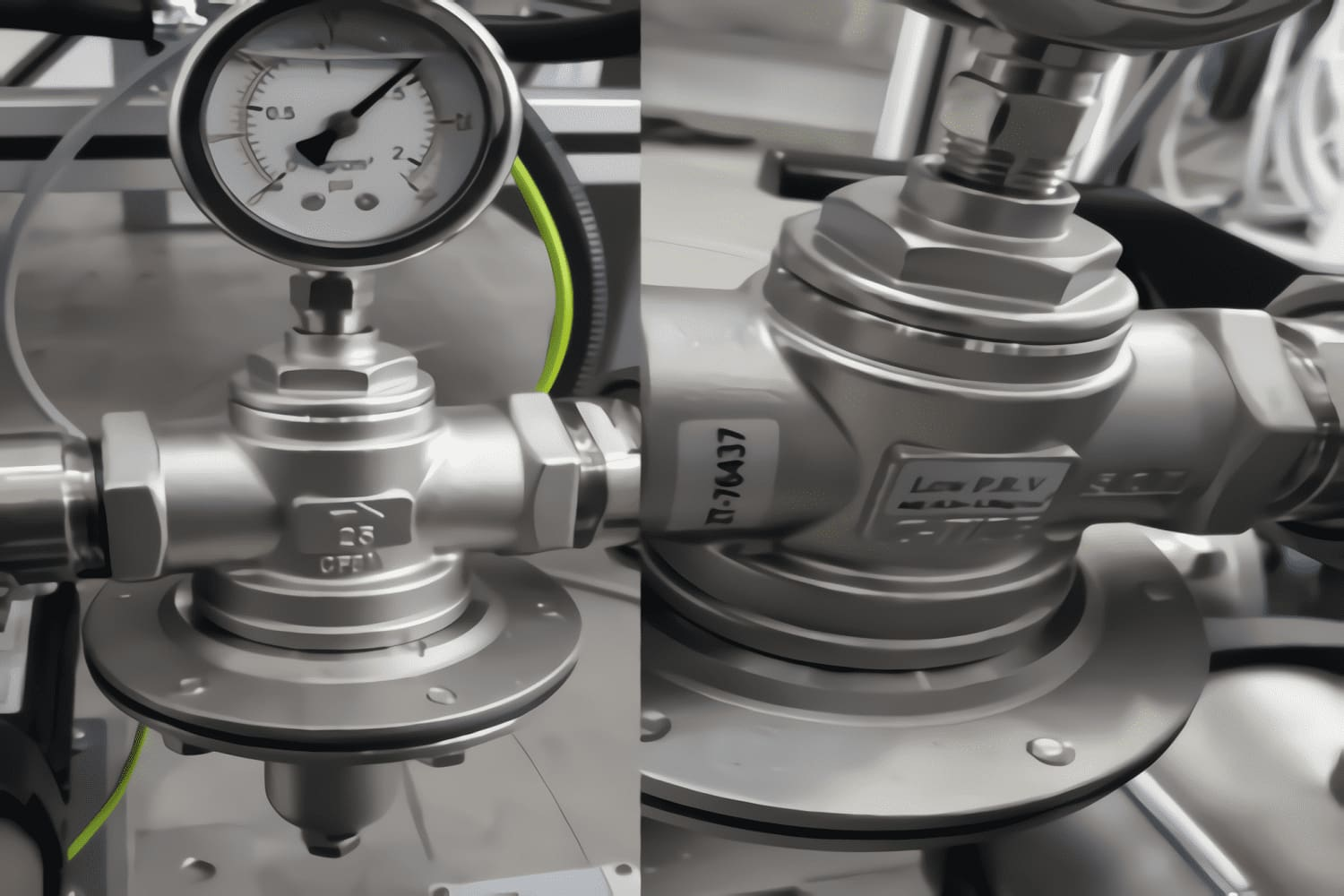 Turkey Direct Acting Low Pressure Type Pressure Reducing Valve (SS316)